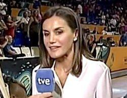 La Reina Letizia, tuteada en una incómoda entrevista durante su regreso a TVE