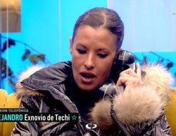 """El novio de Techi llama a 'GH VIP 6' y corta con ella en directo: """"Me has utilizado"""""""