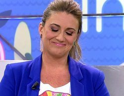 Carlota Corredera rompe a llorar en 'Sálvame' al desvelar que ha sido operada de un quiste
