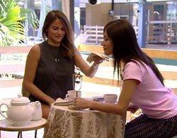 """'GH VIP 6': La tensa """"hora del té"""" de Miriam y Mónica con la que han conseguido el baño y la lavadora"""