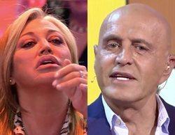 Pique entre Belén Esteban y Kiko Matamoros por sus sueldos en 'Sálvame'