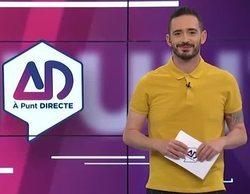 'À Punt directe', programa de la televisión valenciana, se niega a hablar en español a una entrevistada