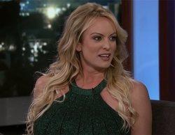 """Stormy Daniels desvela a Jimmy Kimmel el tamaño del pene de Donald Trump: """"Es como la seta de Mario Kart"""""""