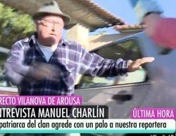 """Manuel Charlín agrede con una azada al equipo de 'El programa de Ana Rosa': """"La secuencia es estremecedora"""""""