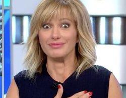 """Susanna Griso se lleva un gran susto en 'Espejo público' tras una broma: """"Taquicardia me ha entrado"""""""