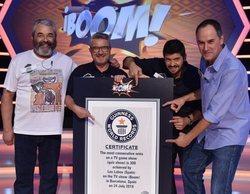 '¡Boom!': Los Lobos reciben el Premio Guinness tras año y medio en el concurso