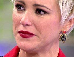 """María Jesús Ruiz rompe a llorar al saber que Julio Ruz le llamó """"mugrosa"""" estando dentro de 'Supervivientes'"""