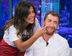 Nuria Roca desvela en 'El hormiguero' que Pablo Motos se pinta la barba