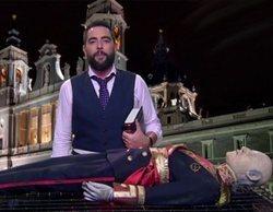 """Dani Mateo incinera en directo en 'El intermedio' a Franco: """"Hay que poner punto y final a este embrollo"""""""