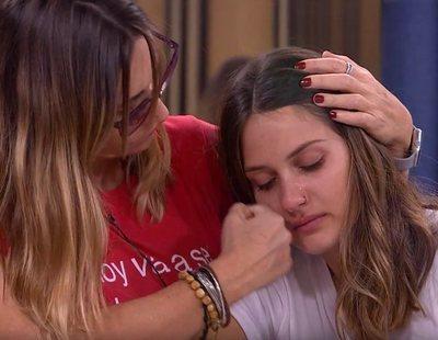 Sabela rompe a llorar tras conocer su tema para la Gala 5 de 'OT 2018'