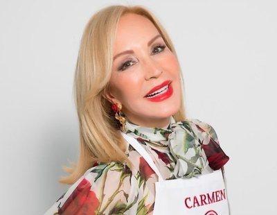 """Carmen Lomana pide su expulsión de 'MasterChef Celebrity' en redes: """"Que me eliminen ya"""""""