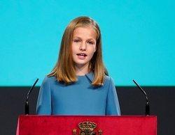 El PP carga contra RTVE por un tuit sobre la intervención de la princesa Leonor