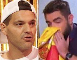 """Frank Cuesta contra Dani Mateo: """"No tienes huevos de limpiarte el culo con una estelada o la bandera del ISIS"""""""