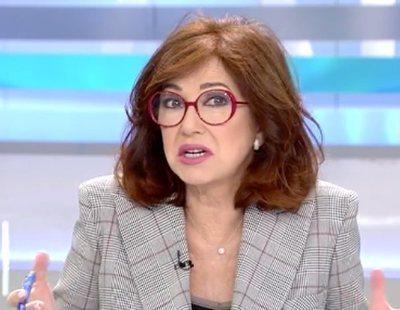 """Ana Rosa Quintana responde a Ortega Lara: """"Españoles somos todos, votemos a quien votemos"""""""