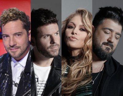 Estos serán los cuatro coaches de 'La Voz Senior' en Antena 3