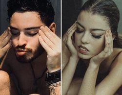 """Cepeda se desnuda para imitar la portada de """"Y ahora no"""", el primer single de Nerea"""