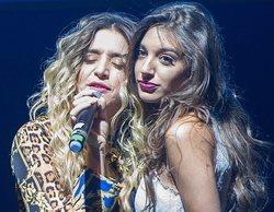 """Así fue el reencuentro Warmi entre Mimi y Ana Guerra, en el concierto de Madrid, para cantar """"Havana"""""""