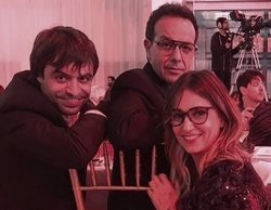 """'OT 2018': Noemí Galera y Manu Guix se reencuentran con Àngel Llàcer en la gala """"People in Red"""""""