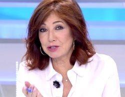"""Ana Rosa Quintana explica los detalles de su ausencia en el programa: """"No me podía mover del cuarto de baño"""""""