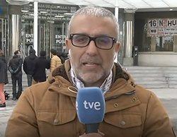 Un reportero de 'Telediario 1' se queda en blanco al informar sobre el juicio al Rey del Cachopo