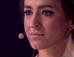 """Mimi, incapaz de contener las lágrimas tras las palabras de Chenoa sobre las """"duras vivencias"""" en 'TCMS'"""