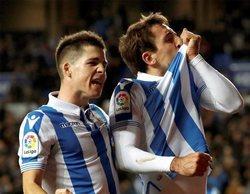 El fútbol consigue el liderazgo con el partido Real Sociedad-Celta de Vigo en Gol (4%)