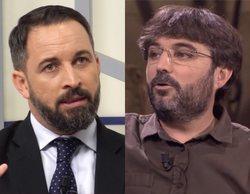 "Santiago Abascal, líder de Vox, carga contra Jordi Évole: ""No tiene vergüenza. ¡Que llame a Otegi!"""