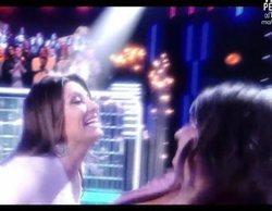 Sandra Barneda y Nagore Robles se besan en directo tras bailar 'Grease' en 'GH VIP 6'