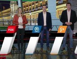 La realidad aumentada de 'Al rojo vivo' y el pactómetro en La 1 marcan las elecciones andaluzas en televisión