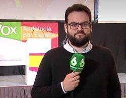 """VOX vuelve a vetar a laSexta en rueda de prensa: """"Literalmente nos han quitado el micrófono"""""""