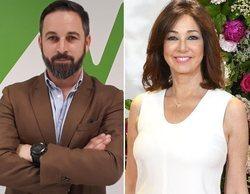 'El programa de Ana Rosa': Santiago Abascal, líder de VOX, concede su primera entrevista a Ana Rosa Quintana