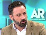 """Santiago Abascal en 'AR': """"Quiero una ley que proteja a mis hijos de denuncias falsas de desaprensivas"""""""