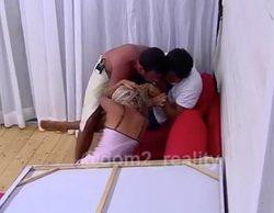 Brutal agresión machista en un reality ruso, donde un hombre pega una paliza a su pareja por abrazar a otro