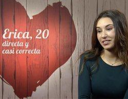 """Erica ('First Dates'): """"Soy un poco estrecha y lo que más me excita es un millón de euros en el banco"""""""
