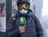 La impactante forma en la que un reportero de 'laSexta Noticias' ha informado sobre la situación en París