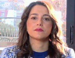 "Inés Arrimadas en 'El programa de Ana Rosa': ""Torra está apelando a una guerra como la de Eslovenia"""