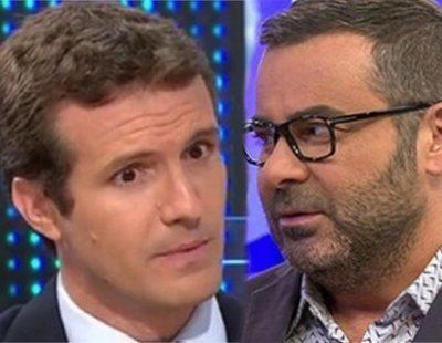 """El enfado de Jorge Javier Vázquez: """"Ahora Casado dice que el aborto no es derecho"""""""