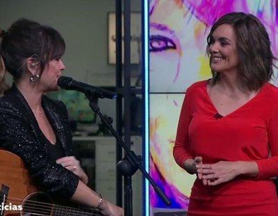 El zasca de TVE a 'Antena 3 Noticias' por presumir de ser los primeros en contar con música en plató
