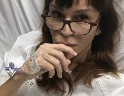 Antonia San Juan, ingresada, explica la intervención desde la cama del hospital