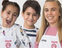 'MasterChef Junior 6': Blanca, Enrique y Letizia se convierten en los primeros expulsados