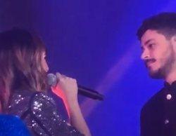"""Aitana y Cepeda se reencuentran en el penúltimo concierto de 'OT 2017': """"Sigues siendo importante para mí"""""""