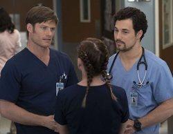 'Anatomía de Grey': Las imágenes del regreso de la serie muestran el complicado triángulo amoroso de Meredith