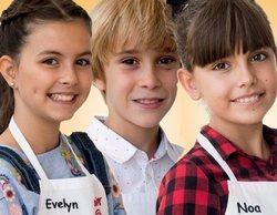 'MasterChef Junior 6': Evelyn, Izan y Noa se convierten en los expulsados del tercer programa