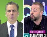 """Ortega Smith (VOX), contra Antonio Maestre en 'AR': """"A los presuntos delincuentes les contesto en un juzgado"""""""