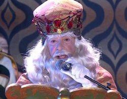 La pullita independentista del Rey Melchor en la cabalgata emitida en TV3