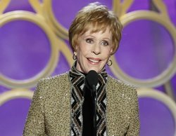 Globos de Oro 2019: Carol Burnett recoge el primer Carol Burnett en honor a su carrera televisiva