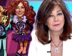 """Ana Rosa, sobre la caricatura """"feminazi"""" que VOX ha hecho sobre ella: """"Quiere decir que hago bien mi trabajo"""""""