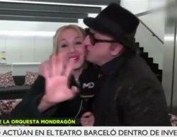 La actitud machista de Javier Gurruchaga con una reportera de Telemadrid