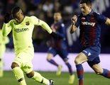 El partido de Copa del Rey Levante-Barcelona se impone en una jornada con Neox como protagonista principal