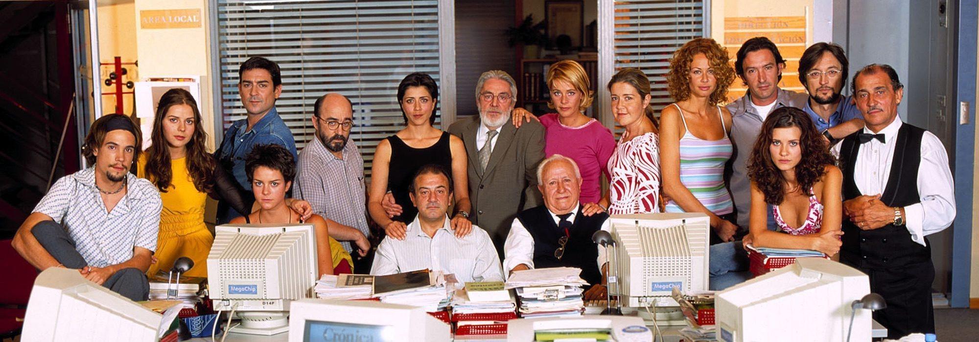 De 'El Comisario' a 'Periodistas': Cuando Telecinco creó su propio universo de ficción con Estudios Picasso